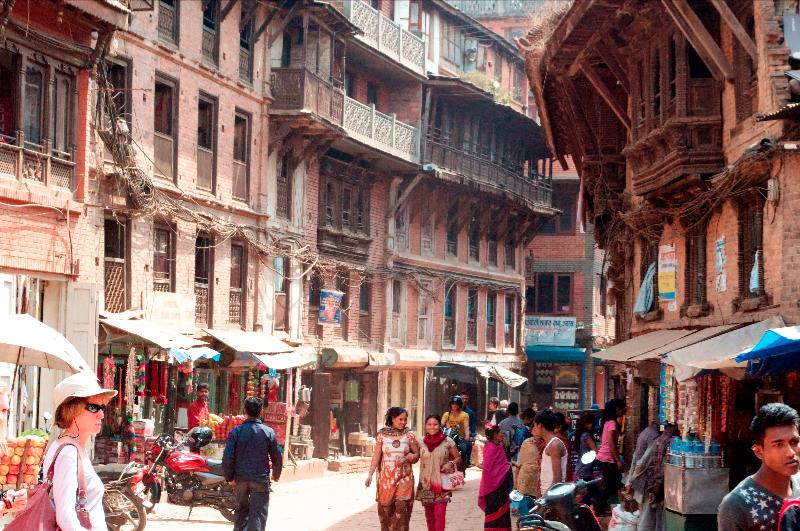 bhaktapur-street