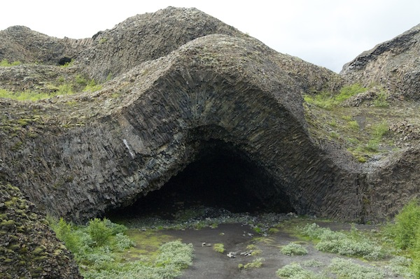 Fabulous rock formations at Jökulsárgljúfur