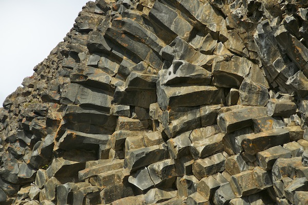 Horizontal Basalt block