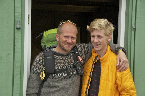Oskar and Gunner