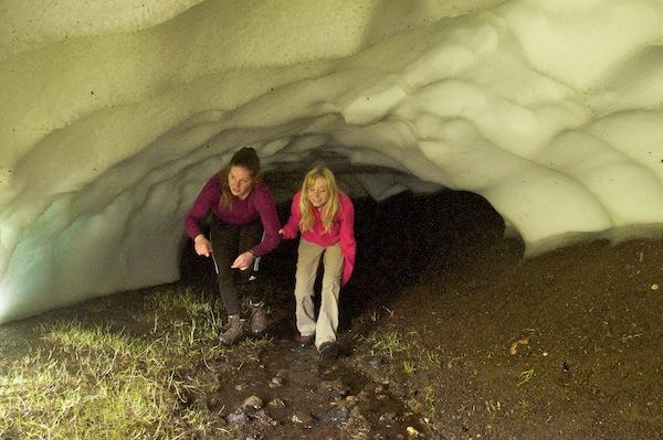 Ice cave fun
