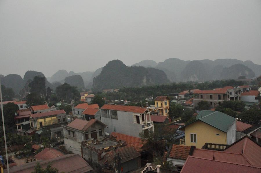 Ninh Binh and karst scenery