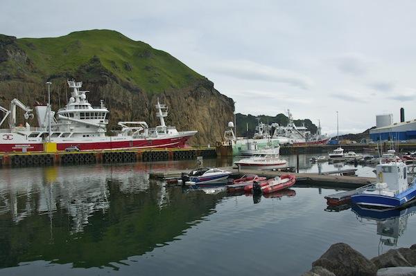 Heimaey harbour