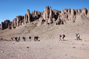 Trekking in the Jebel Sahro