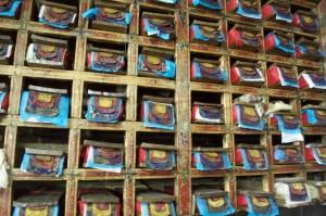Prayer tablets of Khumjung Gompa