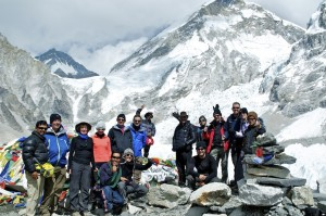 Everest Base Camp celebrations