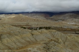 Our first view of Lo Manthang