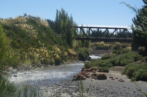 The railway bridge at Tangiwai