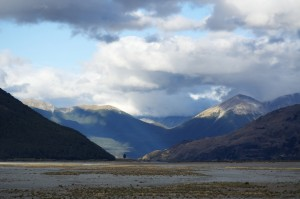 Looking east from near Arthur's Pass
