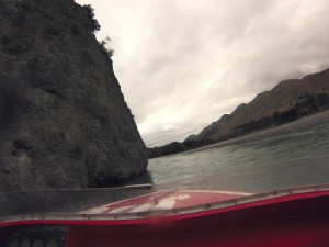 Jet boating. Only the video will give an idea of speed and drama.