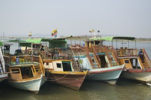 Boats of the Ayeyarwady