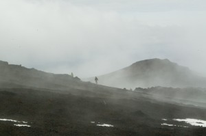 Climbing Hekla