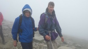 Guiding in the mists of Snowdon