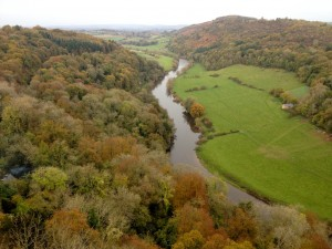 A much photographed view of the Wye from the viewpoint