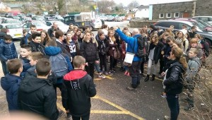 60 French teenagers get the low down on the walk ahead