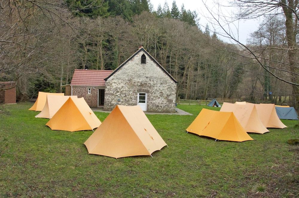 Camp all set