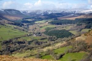 The Grwynefechan Valley