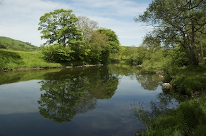 The tranquil waters of the River Lune