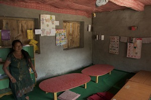 The ECD (Early Childhood Development) room
