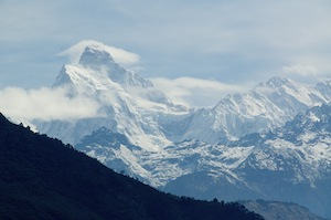 Jannu. In Limbu it is known as Phoktanglung, which translates as shoulder. It is the shoulder of Kanchenjunga