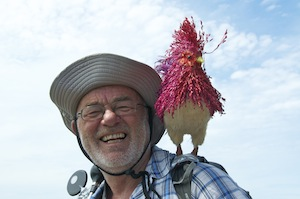 Me and my cockerel!