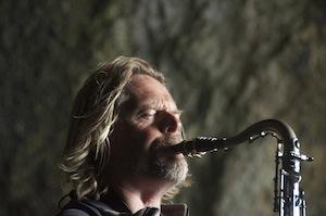 Viking saxophonist