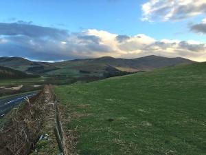 Beautiful Northumberland countryside