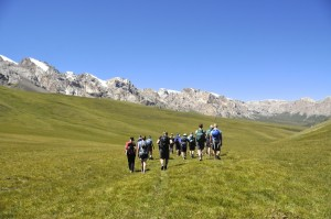 Walking through an almost perfect valley
