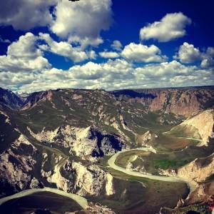 Even better views of the Kok-Kiya Gorge