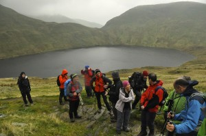 resting above Grisedale Tarn