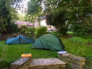 Our comfortable camp
